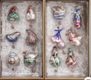 New Pottery Barn 12 Twelve Days Of Christmas Mercury Glass Ornaments Sold Out