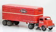 Smith-miller Gmc Be-mac Transport Tractor And Trailer Circa 1940and039s