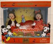 Barbie Kelly Disney Mickey And Minnie Mouse Kelly And Tommy Gift Set 2002