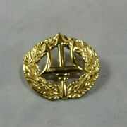 Us Navy Trident Gold Pin 20/10kgf Used In Great Condition
