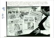 Australia's Newspapers Heralded The End Of Former A - Vintage Photograph 1936036