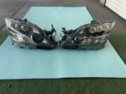 Lexus Ls600h Left And Right Pair Set Headlight Oem With Ballast Complete