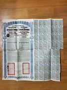 China Chinese Government 1913 Lung Tsing Andpound20 Bond Loan With Coupons Uncancelled