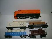 Lionel Set 1569 Up Freight Set From 1957 See Notes , Lot 20967