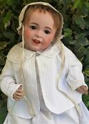 Fine French 22 Antique Sfbj 236 Laughing Jumeau Size 11 Character Doll 1900s