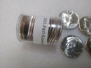 2021-pandd Kennedy Half-dollars Mixed Tube Roll 10 D-mint And 10 P-mint 20 Coins