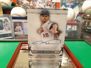 No15 Of Only 21 Rare Jacob Degrom Autographed 2019 Topps Diamond Icons