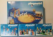 Playmobil System Circus And Add On Sets Vintage 4 Set Lot