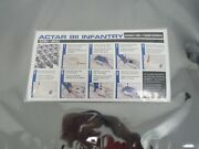 New Actar 911 Infantry Infant Baby Lungs Disposable Pack Of 100