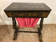 Antique Chinese Sewing Table