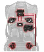 Can-am X3 3 Speaker Kit Kicker Speakers Fits 2 Seat 16-18 And 16-19 4 Seat Models