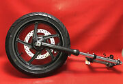 2016 Honda Cbr300r Front End Wheel Forks Upper And Lower Triple Tree Axel 21.110