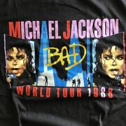 Michael Jackson Tour T-shirt Used Rock T-musician My Freedom Free Easy Vintage