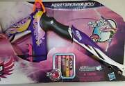 Nerf Rebelle Heartbreaker Bow Purple Flame Design With Darts New