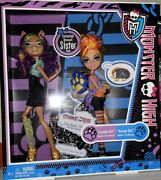 Monster High Clawdeen Wolf And Howleen Wolf Sisters 2-pack New In Box Nrfb S1-4