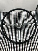 1967 Chevrolet Chevelle Factory Steering Wheel With Horn Buttons Used Oem