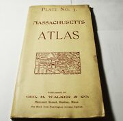 Ma. Atlas Plate 3, Middlesexpepperell Lawrence N. Andover Geo.h.walker Co. 1900