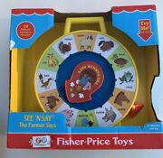 Fisher Price See 'n Say The Farmer Says Toy New Cow Duck Sheep Dog Free Shipping