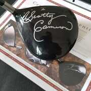 Used Scotty Cameron Autographed Personal Titleist Driver Tour 909d2 7.5 Bfz588