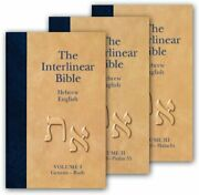 The Interlinear Bible Ot Volumes 1-3english, Aramaic And Hebrew Edition H…
