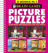 Brain Games - Picture Puzzles 2 Books In 1 By Publications International Ltd…
