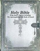 Holy Bible King James Version With The Apocrypha And The Book Of Enoch By Var…