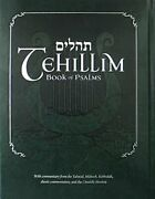 Tehillim - Book Of Psalms With English Translation And Commentary With Comment…