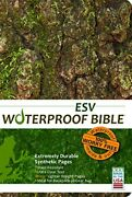 Waterproof Bible - Esv - Camouflage By Bardin And Marsee Publishing Paperback