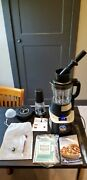 Pampered Chef 100125 Deluxe Cooking Blender W/ Smoothie Kit