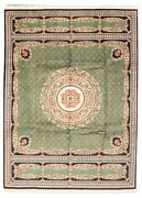 Hand-knotted Carpet 9'1 X 12'5 Traditional Vintage Wool Rug