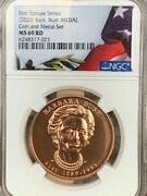 2020 Barb Bush First Spouse Series Medal Ngc Ms 69 Rd Coin And Medal Set Top Pop