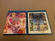 Twilight Time 'golden Voyage Of Sinbad/eye Of The Tiger' Blu-ray Used Like New