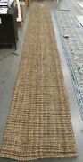 Natural 2'-6 X 20' Loose Threads Rug, Reduced Price 1172625619 Nf447a-220