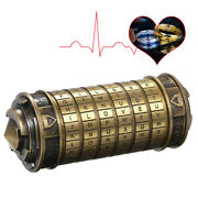 Code Toys Metal Cryptex Locks Wedding Gifts Valentinesand039s Day Gift Password H8m2