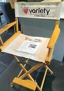 Cast Autographed Directors Chair From Herbie Fully Loaded