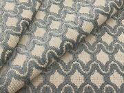 Cowtan And Tout Epingle Velvet Upholstery Fabric Linley Sky White 3.15 Yd 11289-02