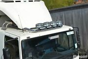 To Fit Mitsubishi Canter Low Cab Stainless Steel Roof Bar + Led Spots + Clamps
