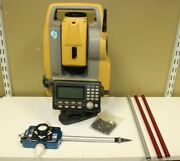 Topcon Es-105 Prismless/wireless Surveying Station And Seco 5910-05 Sliding Prism