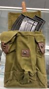 - Cold War Soviet Era Russian Rifle 3-mag-aak3-cell Mag Pouch 7.62x39mm