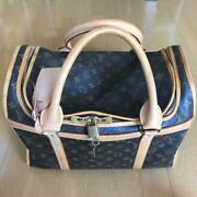 Louis Vuitton Dog Carry Bag Sac Chien F/s From Japan