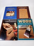 Wood Carving Books Lot Of 3 Plus 1 Cabinet Making Jeremy Williams Better Homes