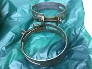 2 Nos A15 Radiator Hose Clamps, Ford Model T Vintage 1930-1950's Autos Trucks