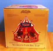 Mr. Christmas Gold Label Worlds Fair Big Top Circus Tent Lights Animated Musical