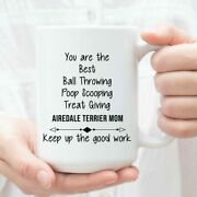 Airedale Terrier Mom Gifts Funny Airedale Terrier Mom Cup Christmas Present For