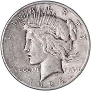 1926 S Peace Silver Dollar Very Fine Vf See Pics G805
