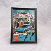 Panic At The Disco Signed Flyer And Guitar Pick From The 2008 Honda Civic Tour