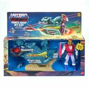 Adam Sky Sled And Figure Masters Of The Universe Retro Action Figure Set...
