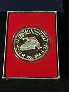 2004 Fun Convention Limited Edition Silver Proof Round 1 Troy Oz .9999 Silver