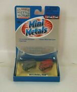 Nos Cmw Classic Metal Works Metro Delivery Truck N Scale Accessories - 50210