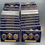 2013 William Howard Taft Presidential 1 Coin Set - P D S - First Day Of Issue